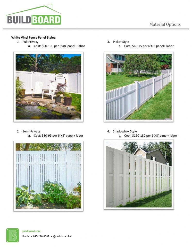 home remodeling fencing