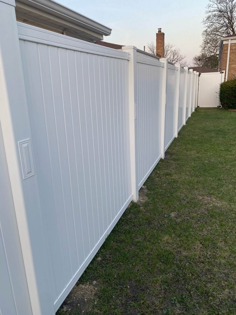 home remodeling vinyl privacy fence installation Buildboard