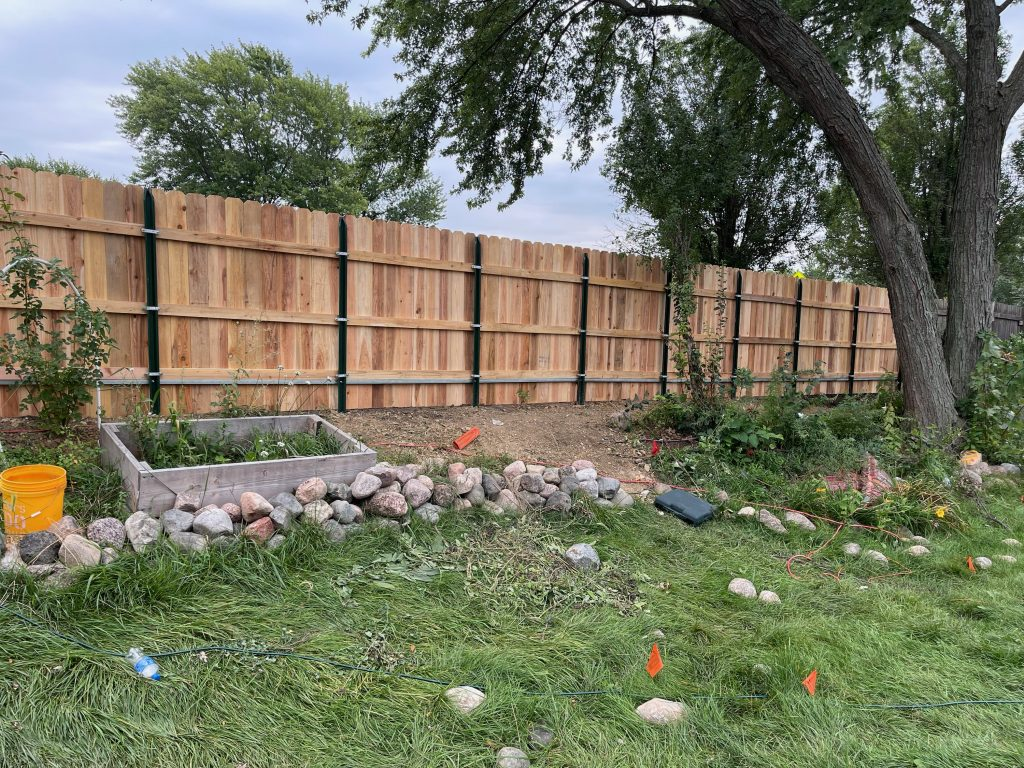 home remodeling - cedar fence project Buildboard